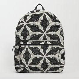 Openwork Abstract Pattern Backpack