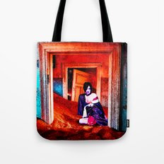 The Woman in the Dunes Tote Bag