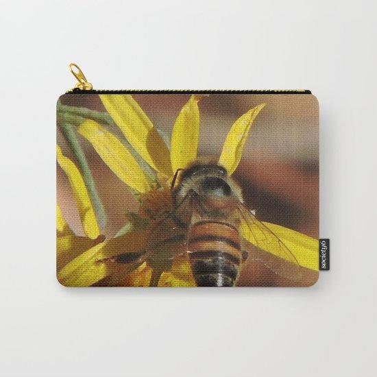 Desert Sunflower Pollen Picker Carry-All Pouch