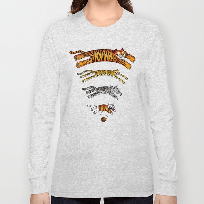 Wi-Fi Cats Long Sleeve T-shirt