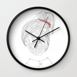 Portrait of a Mood Wall Clock