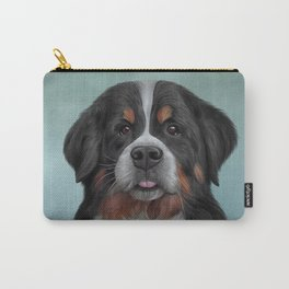 Drawing Bernese Mountain Dog 6 Carry-All Pouch