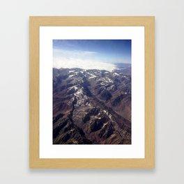 Beyond Andes Framed Art Print