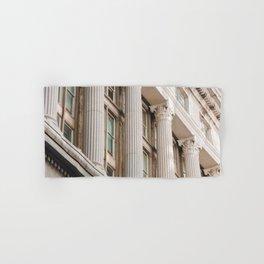 Pillars of the Neighborhood - NYC Photography Hand & Bath Towel