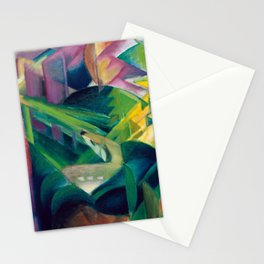 Franz Marc - Deer in a Monastery Garden Stationery Cards