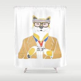 Richie Tenenbaum doge Shower Curtain