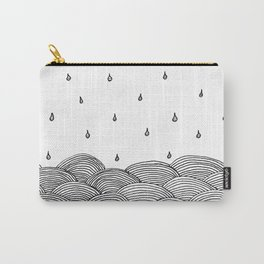 Rain and Sea Carry-All Pouch