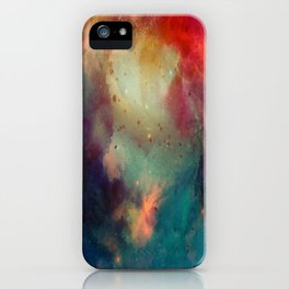 Galactic Watercolor iPhone Case