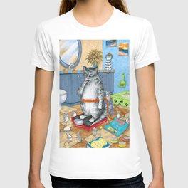 Overweight cat T-shirt