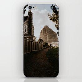Cozy Cannon Beach, Oregon iPhone Skin