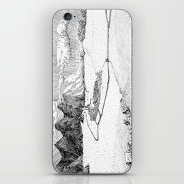 City Near the Mountains iPhone Skin