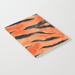 Tiger Stripes (Orange/Black) Notebook