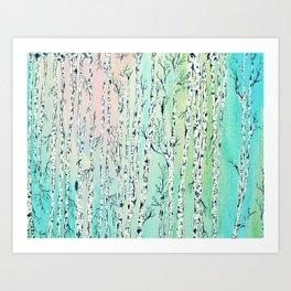 don't be a birch Art Print