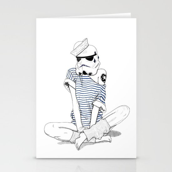 Sailortrooper Stationery Cards