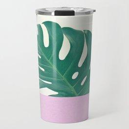 Monstera Dip Travel Mug