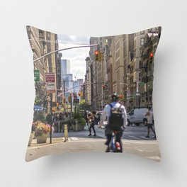 Flatiron District Throw Pillow