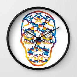 00 - COPERNICUS SKULL Wall Clock