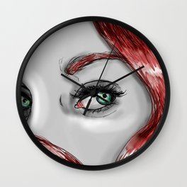 ROMANOFF - BLACK WIDOW  Wall Clock