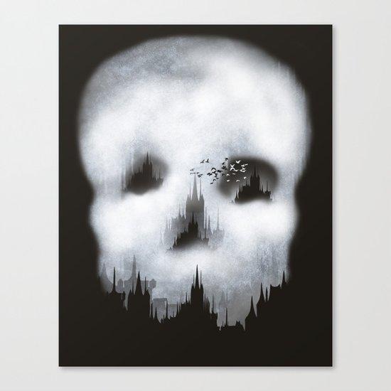 Dark City Canvas Print