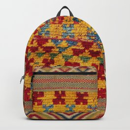 Ait Ouaouzguite Berber Antique Moroccan Saddle Rug Backpack