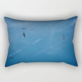 Birds of a Feather (B1) Rectangular Pillow