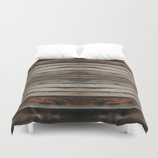 wood 2 Duvet Cover