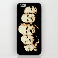 louis ck iPhone & iPod Skins featuring The Faces of Louis CK by The GRYLLUS