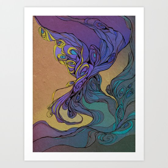 Magic Smoke Art Print