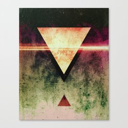 Triangle Triad (Ripe With Decay Variant) Canvas Print