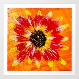 Sunflower - Mazuir Ross Art Print
