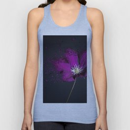 Clematis Explosion Unisex Tank Top