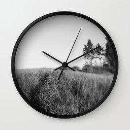 Walk This Way Wall Clock