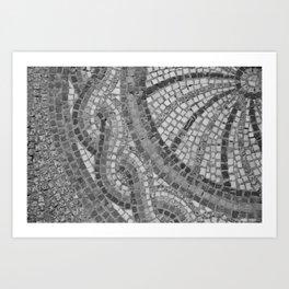 stone textures 4383 Art Print