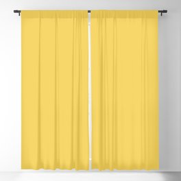 Sunshine Yellow - Solid Color Collection Blackout Curtain