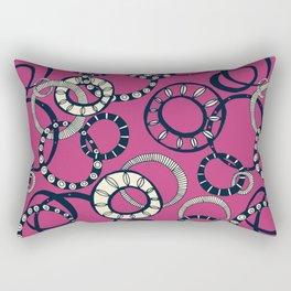 Honolulu hoopla pink Rectangular Pillow