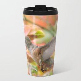 Little Ms. Hummingbird in for More Licks Travel Mug