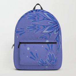 Hand Flower Backpack