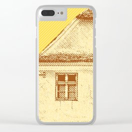Old country house Clear iPhone Case