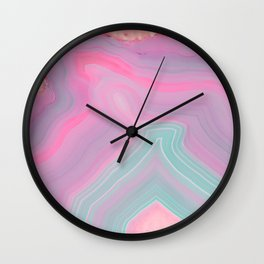 Agate Summer Texture Wall Clock