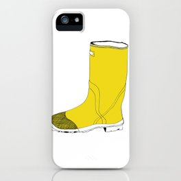 My favorite yellow boot iPhone Case