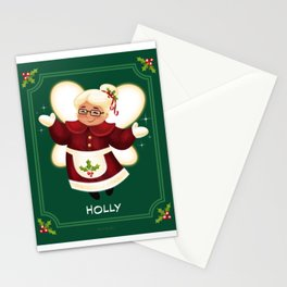 Christmas Holly Stationery Cards