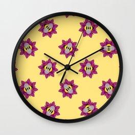 Bumblebee Magee Wall Clock