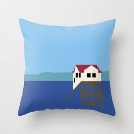 Mumbles Throw Pillow