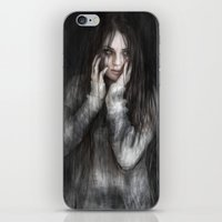 the vampire diaries iPhone & iPod Skins featuring Vampire by Justin Gedak
