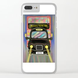 London Commute Clear iPhone Case