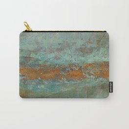 Blue Green Worlds Carry-All Pouch