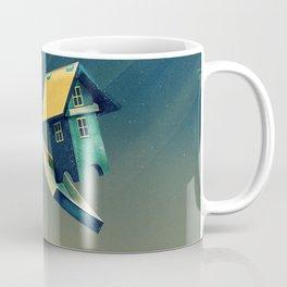 Flying Bird...house Coffee Mug