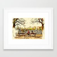 prague Framed Art Prints featuring Prague by Tara Holland