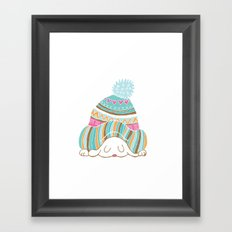 Hat Framed Art Print