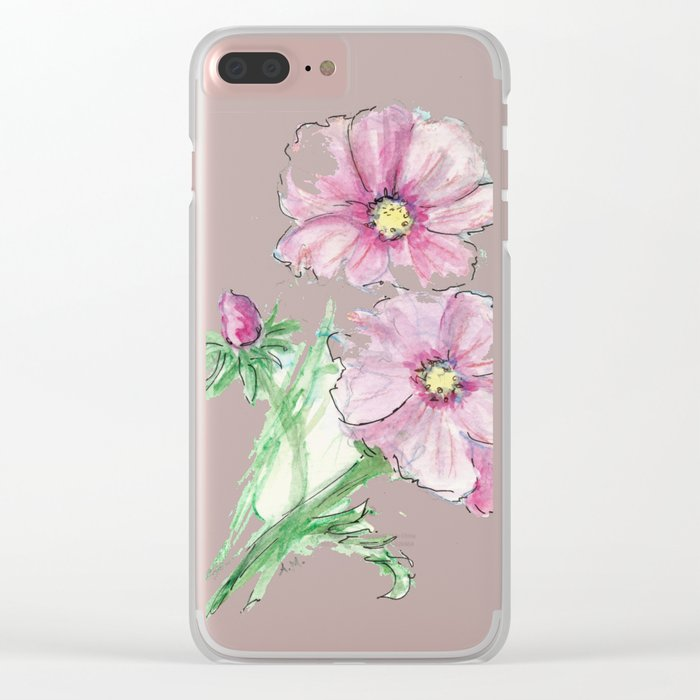Minute Waltz Clear iPhone Case